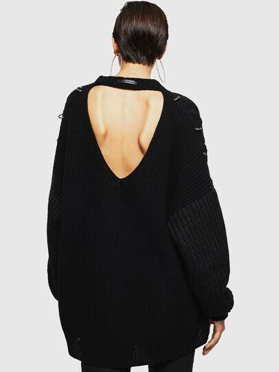 Diesel - MEBLY, Black - Sweaters - Image 2
