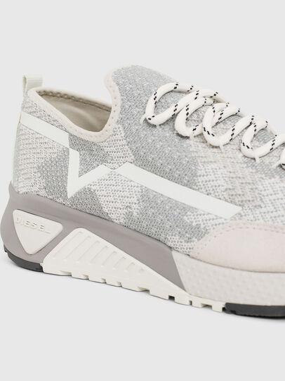 Diesel - S-KBY, Grey/White - Sneakers - Image 4