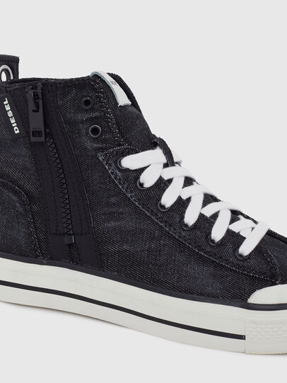 Diesel - S-ASTICO MID ZIP W, Black - Sneakers - Image 4