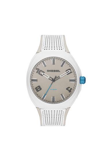 Stigg white and gray silicone watch