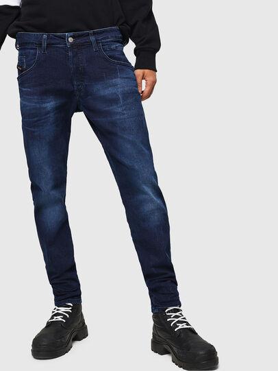 Diesel - D-Bazer 083AT, Dark Blue - Jeans - Image 1