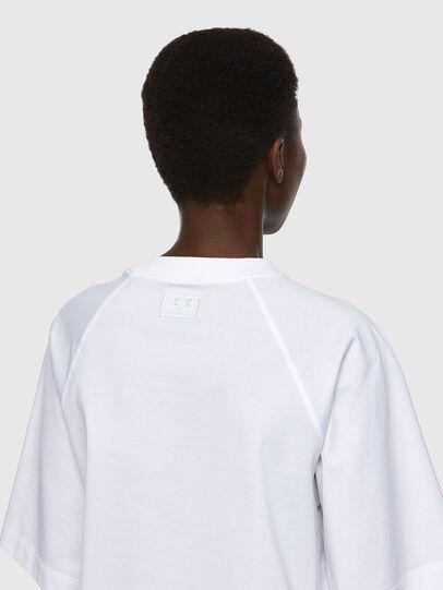 Diesel - T-SPOK-C.C, Blanco - Camisetas - Image 4
