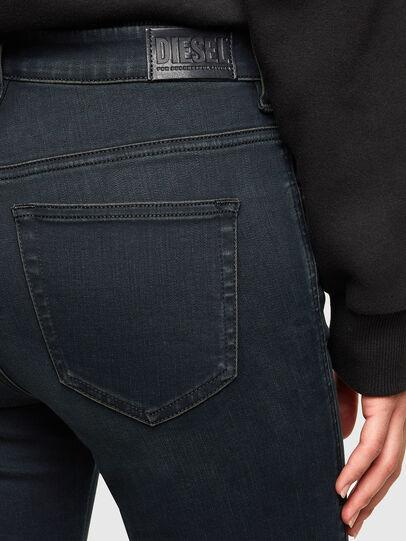 Diesel - Slandy High Skinny Jeans 009QG, Dark Blue - Jeans - Image 4