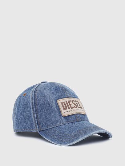 Diesel - C-DEN, Azul - Gorras - Image 1