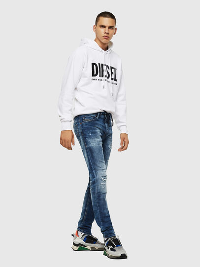Diesel - Thommer JoggJeans 0685I, Medium Blue - Jeans - Image 5