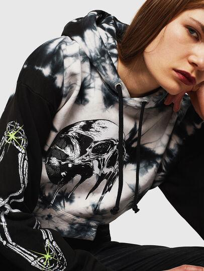 Diesel - S-ALBY-Y, Black/White - Sweatshirts - Image 2