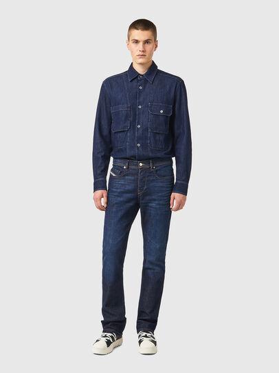 Diesel - D-Vocs Bootcut Jeans 09A12, Dark Blue - Jeans - Image 5