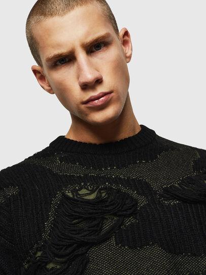 Diesel - K-MUSCHIO, Black - Sweaters - Image 3