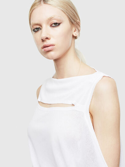 Diesel - T-TATY, White - T-Shirts - Image 3