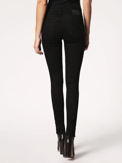 Diesel - Skinzee 0813E, Black/Dark Grey - Jeans - Image 3