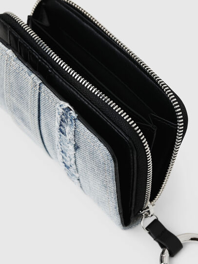 Diesel - BUSINESS II, Blue Jeans - Small Wallets - Image 4
