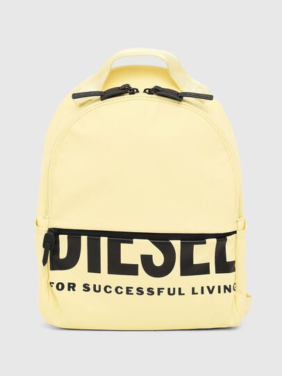 Diesel - F-BOLD BACK FL, Light Yellow - Backpacks - Image 1