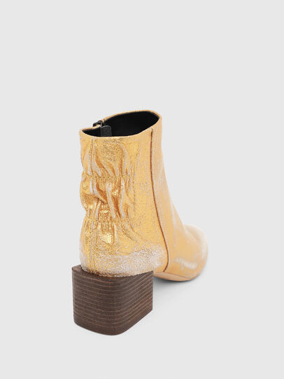 Diesel - JAYNET MAB, Gold - Ankle Boots - Image 4