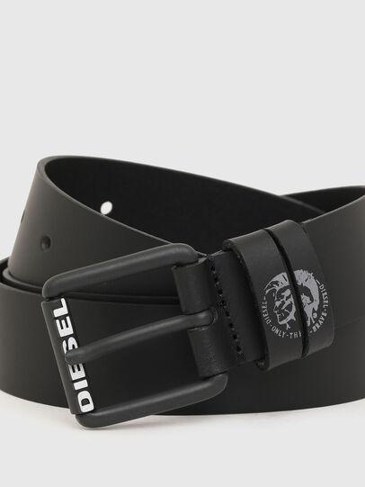 Diesel - B-LAMON, Negro - Cinturones - Image 2