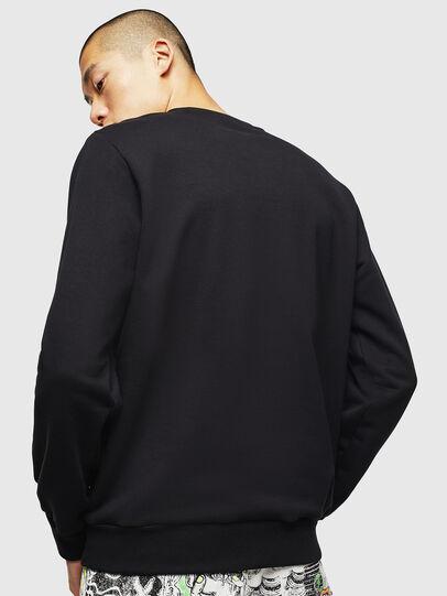 Diesel - S-GIRK-J3, Black - Sweatshirts - Image 2