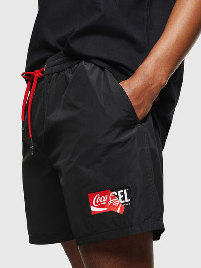 Diesel - CC-WAVE-COLA, Black - Swim shorts - Image 7