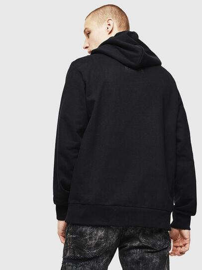 Diesel - S-GIRK-HOOD-J2, Black - Sweatshirts - Image 2
