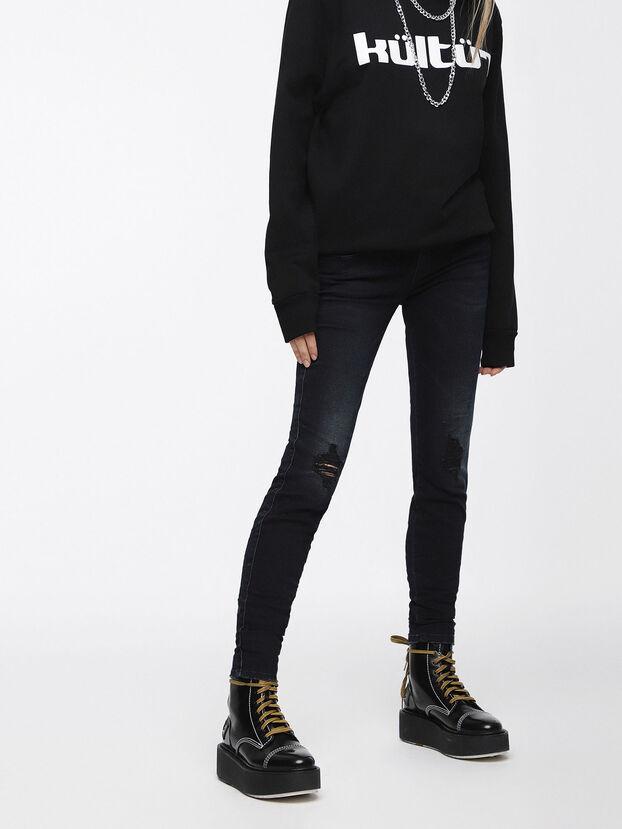 Gracey 069BL, Dark Blue - Jeans