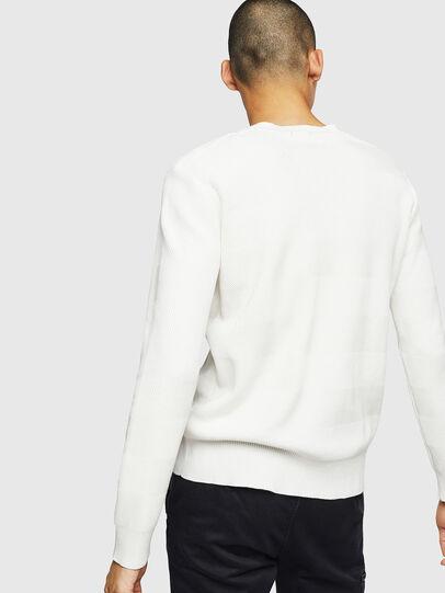 Diesel - K-STLE, White - Sweaters - Image 2