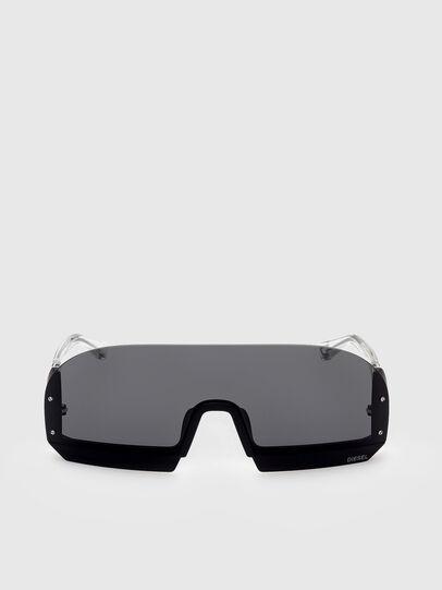 Diesel - DL0336, Black/White - Sunglasses - Image 1