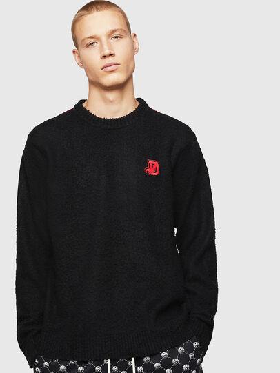 Diesel - K-CASY, Black - Sweaters - Image 1