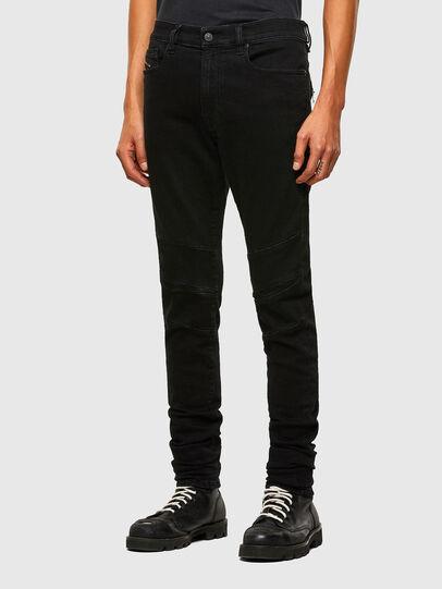 Diesel - D-Amny Skinny Jeans 009RB, Black/Dark Grey - Jeans - Image 7