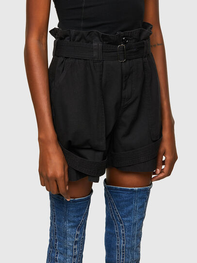 Diesel - S-FEDRA-A, Black - Shorts - Image 3
