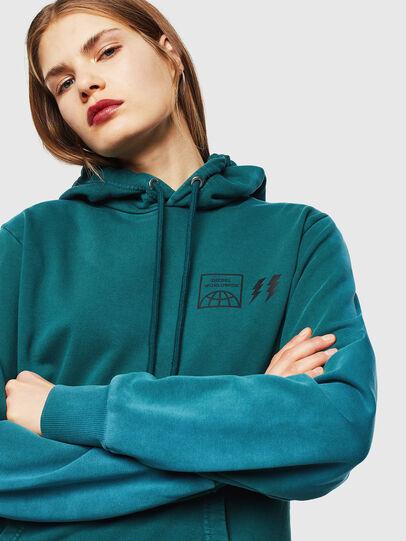 Diesel - S-GIRK-HOOD-SUN, Dark Green - Sweatshirts - Image 6
