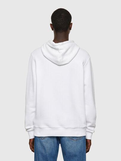 Diesel - S-GIRK-HOOD-B1, White - Sweatshirts - Image 2