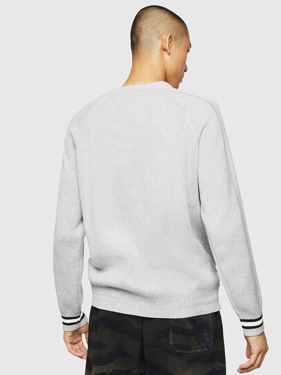 Diesel - K-BOX, Light Grey - Sweaters - Image 2