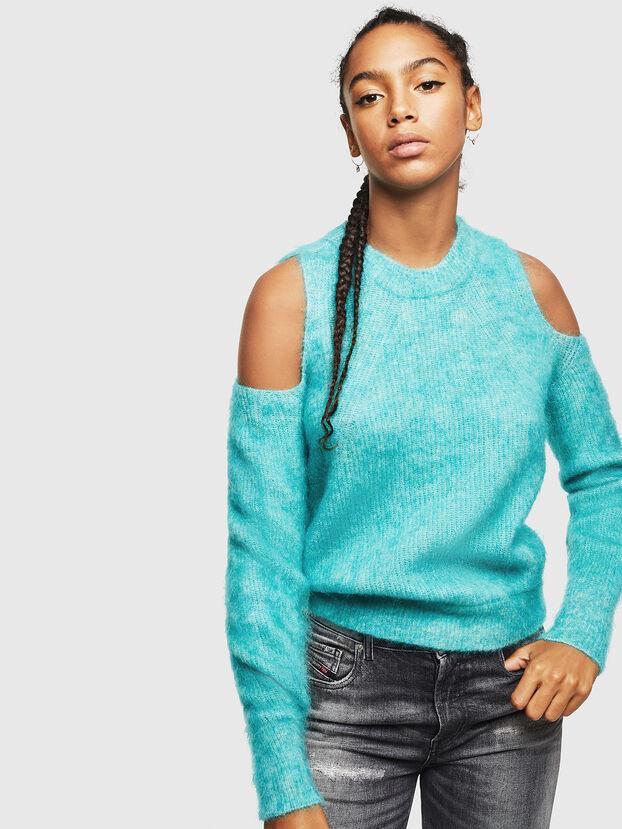 M-LARA, Azure - Sweaters