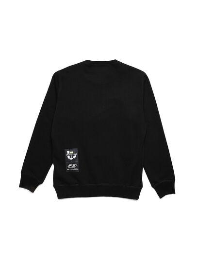 Diesel - D-HALF&HALF, Black - Sweatshirts - Image 2