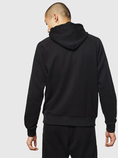 Diesel - S-GIMK-HOOD-J, Black - Sweatshirts - Image 2