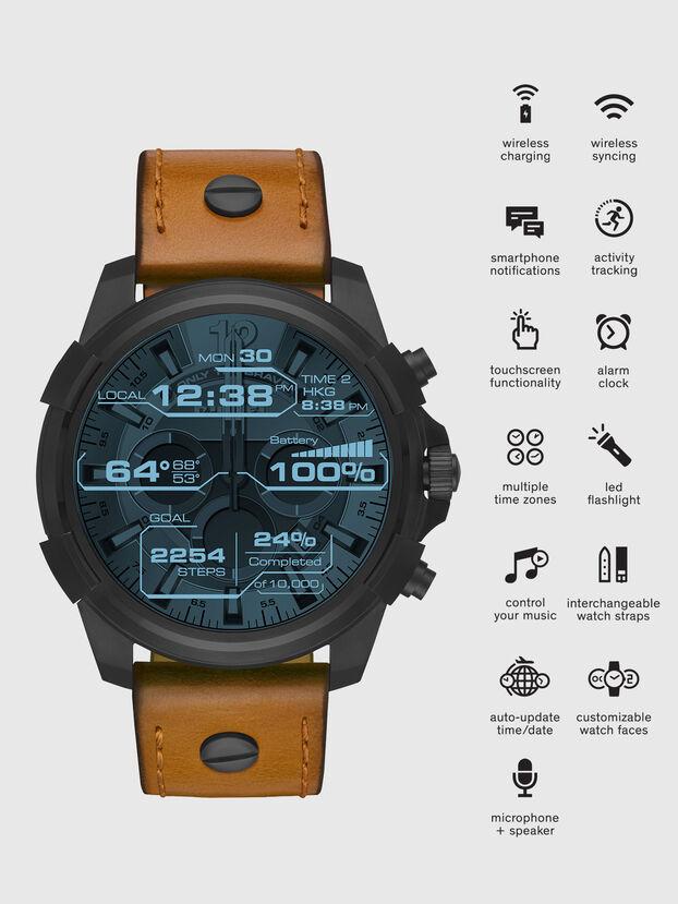 DT2002, Brown - Smartwatches