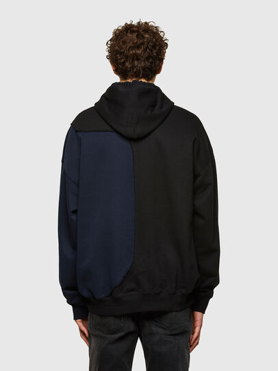 Diesel - S-BLASTY, Blue/Black - Sweatshirts - Image 2