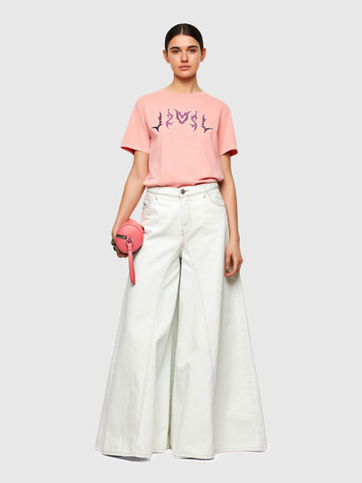 Diesel - T-DARIA-A3, Pink - T-Shirts - Image 5