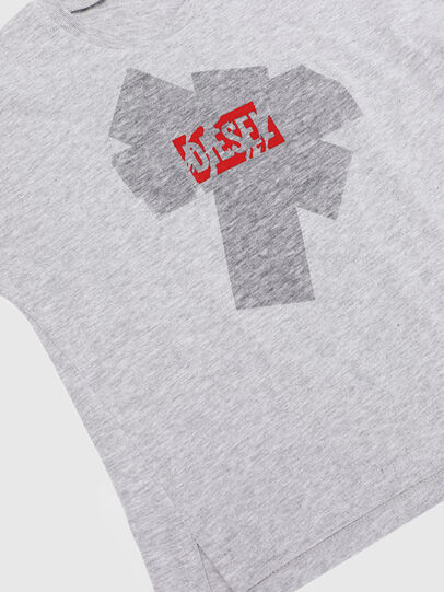Diesel - TUPIB-R, Grey - T-shirts and Tops - Image 3