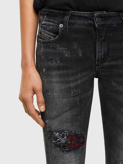 Diesel - D-Jevel 009JN, Black/Dark Grey - Jeans - Image 3