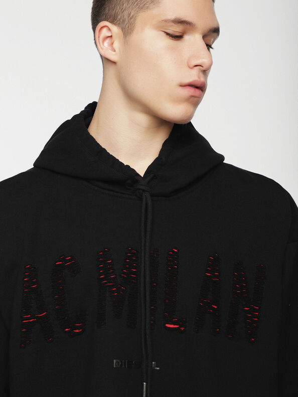 DVL-SIZIP-CAPSULE, Black - Sweatshirts