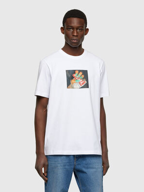 T-JUST-A36, White - T-Shirts