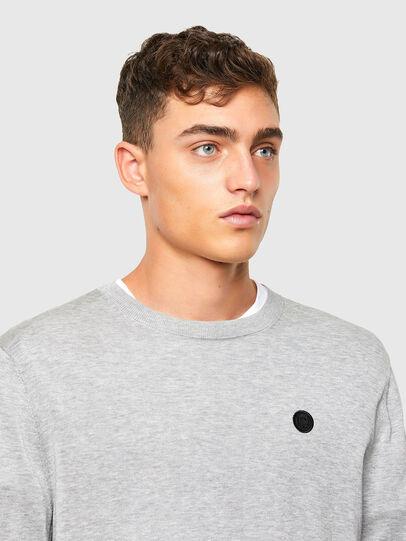 Diesel - K-CROFT, Grey - Sweaters - Image 3