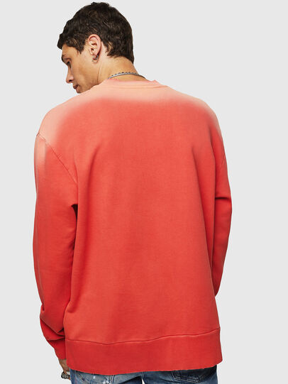 Diesel - S-BAY-SUN, Orange - Sweatshirts - Image 2