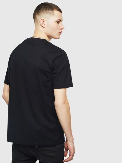 Diesel - T-JUST-T20, Black - T-Shirts - Image 2