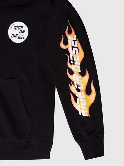 Diesel - US-S-ALBY-COPY-J1, Black - Sweatshirts - Image 3