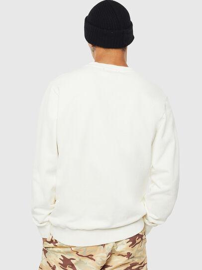 Diesel - S-GIRK-WORK, White - Sweatshirts - Image 3