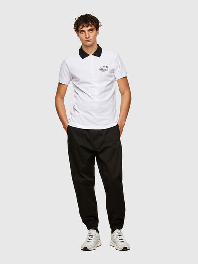 Diesel - T-RANDY-NEW-A1, Blanco - Polos - Image 4
