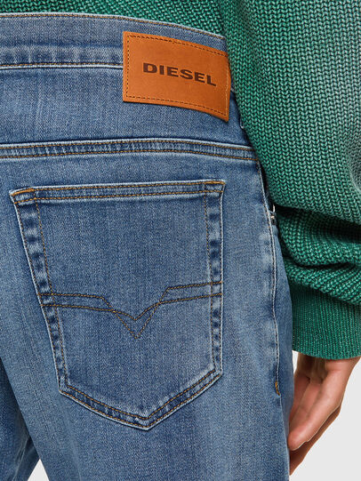 Diesel - D-Yennox Tapered Jeans 009EK, Light Blue - Jeans - Image 3