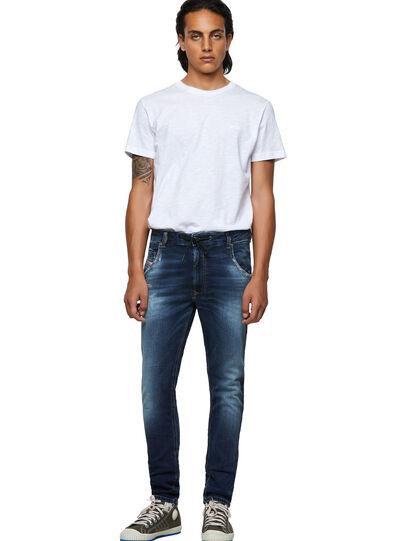Diesel - Krooley Tapered JoggJeans® 069YF, Dark Blue - Jeans - Image 5