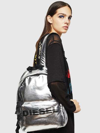 Diesel - F-BOLD BACK II, Silver - Backpacks - Image 6