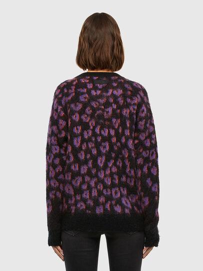 Diesel - M-RHONDA, Violet/Black - Sweaters - Image 2